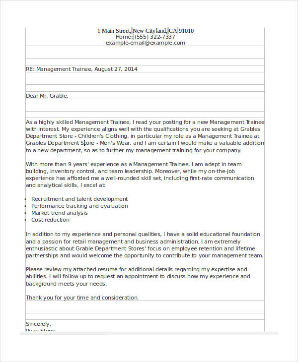 49+ Appointment Letter Examples  Samples - PDF, DOC - sample appointment letter
