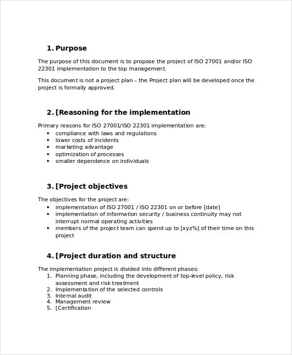 44+ Project Proposal Examples - PDF, Word - project proposals