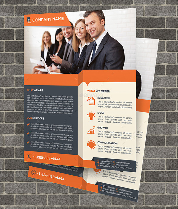 45+ Business Flyer Designs  Examples - PSD, AI, EPS Vector - new business flyers