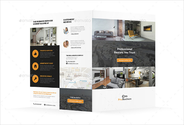 33+ Real Estate Brochure Designs  Examples - PSD, Word, Pages