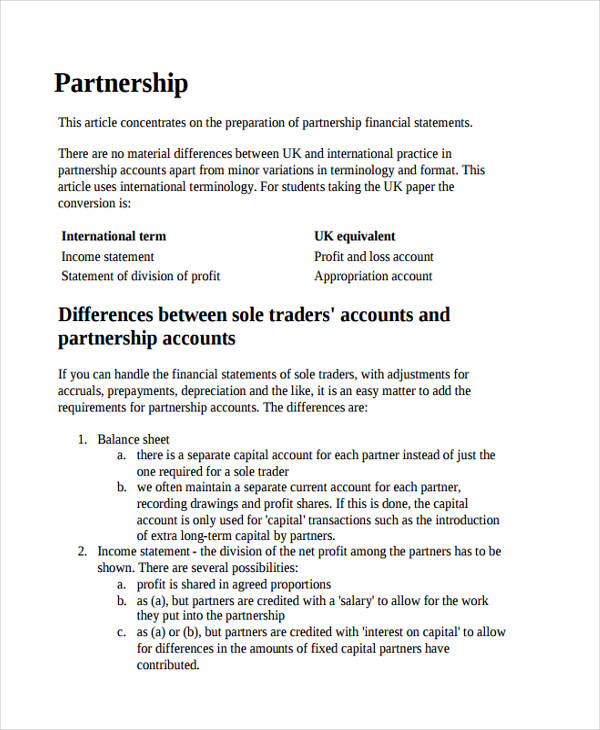 50+ Examples of Income Statement - how to prepare profit and loss account