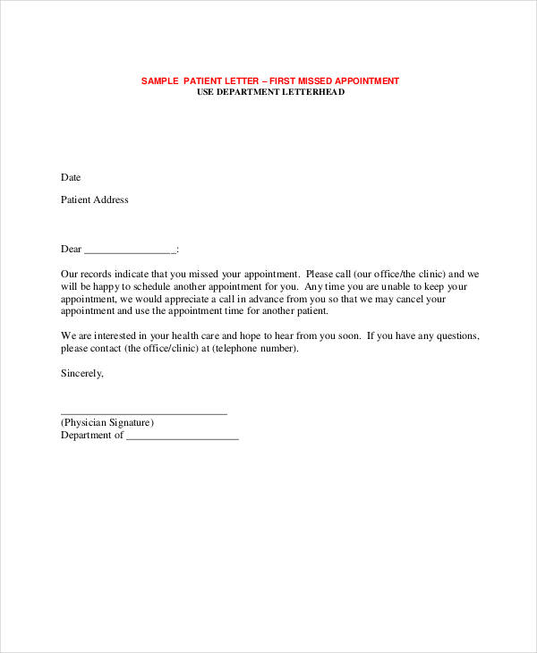 55+ Appointment Letter Examples  Samples - PDF, DOC