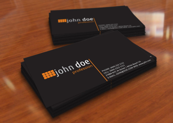 60+ Examples of Business Card Design - PSD, AI, Vector EPS