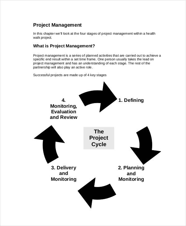 52+ Action Plan Examples - PDF, Word - plan of action template project management