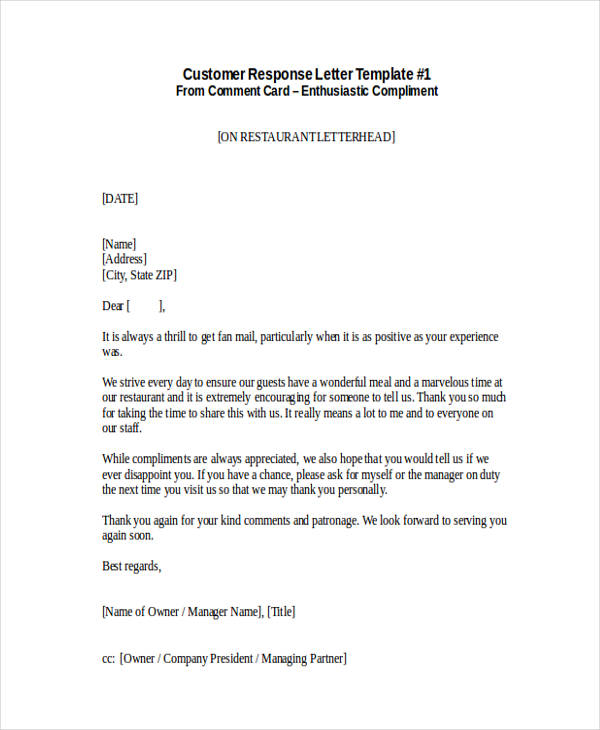 32+ Complaint Letter Examples  Samples - PDF, DOC