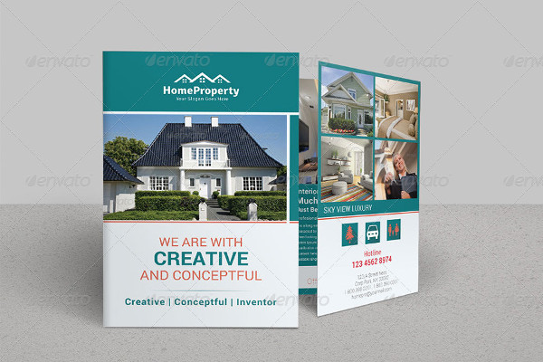 41+ Real Estate Brochure Designs  Examples - PSD, AI, Vector EPS - property brochure