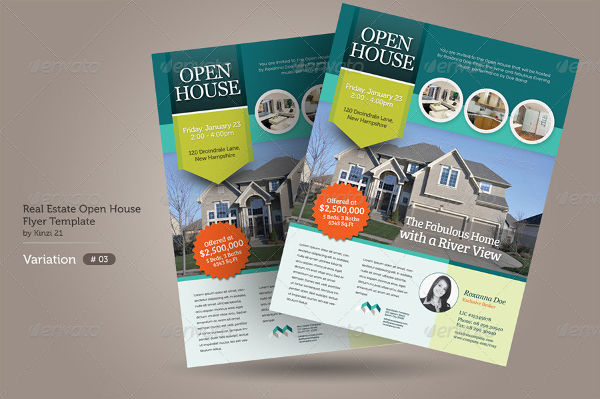 flyer real estate template