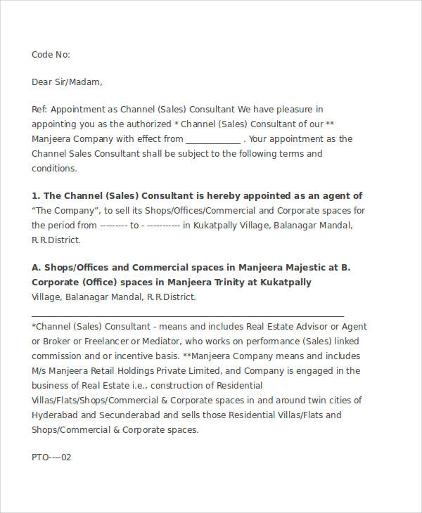 49+ Appointment Letter Examples  Samples - PDF, DOC - Appointment Letters