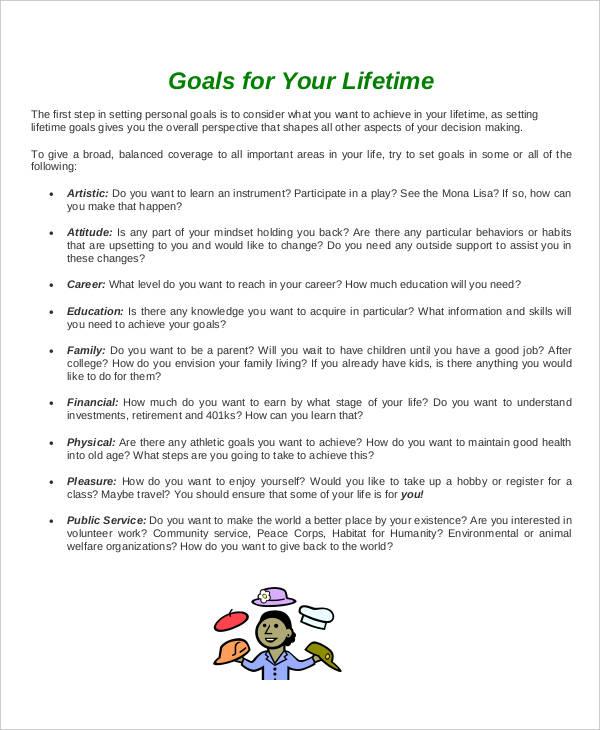 30+ Smart Goals Examples  Samples - PDF, DOC