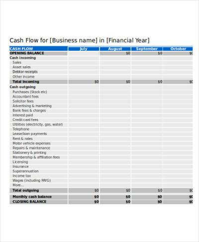 26+ Cash Flow Statement Examples & Samples - PDF, Word, Pages   Examples