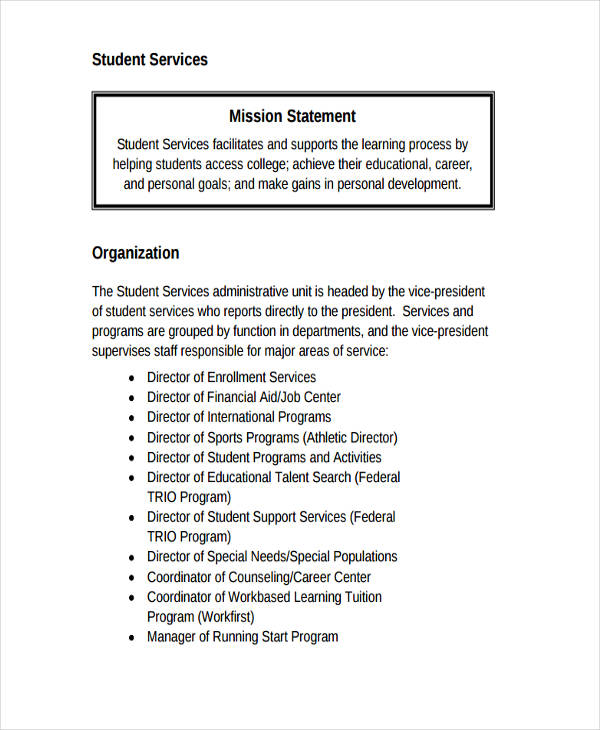 50+ Mission Statement Examples - career mission statement examples
