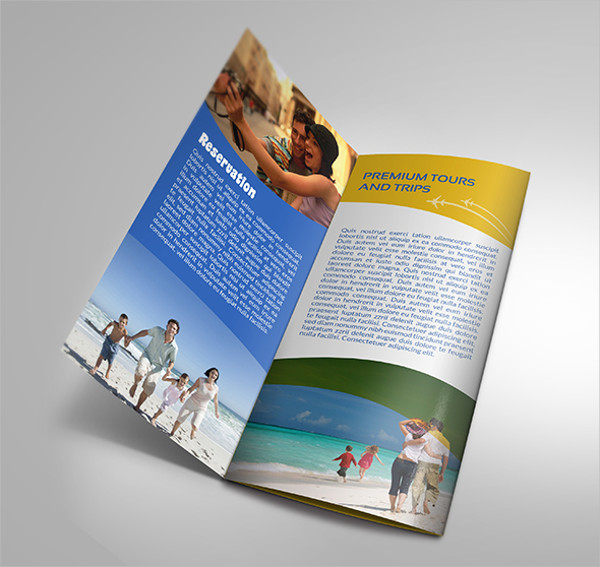 travel brochure samples