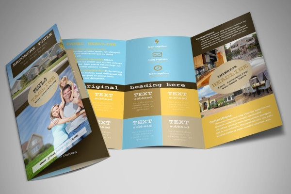41+ Real Estate Brochure Designs  Examples - PSD, AI, Vector EPS