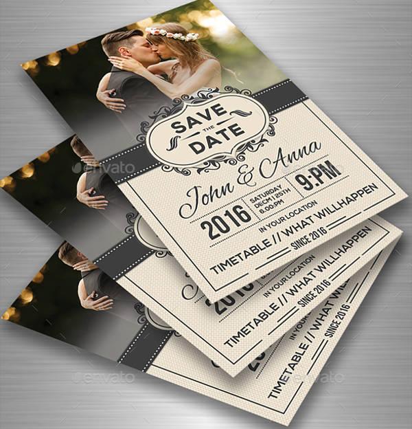 flyer invites - Yenimescale - wedding flyer