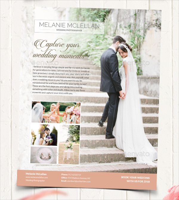 36+ Photography Flyer Designs  Examples - PSD, AI, EPS Vector - wedding flyer