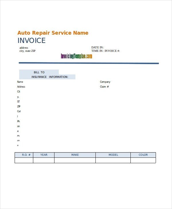 21+ Invoice Examples  Samples in Word