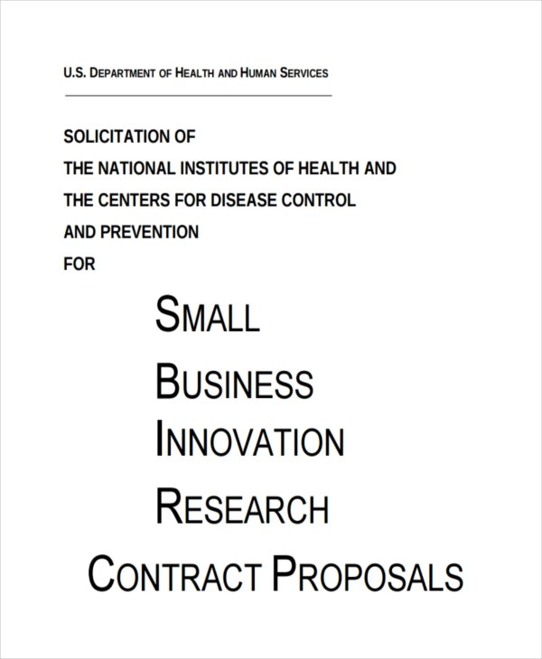 7+ Contract Proposal Examples - PDF