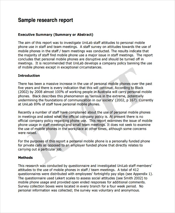 17+ Business Report Examples - PDF, Word - business reports examples
