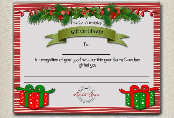 8+ Gift Certificate Examples  Samples - gift certificate samples