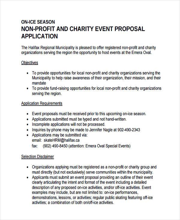 sample written proposal