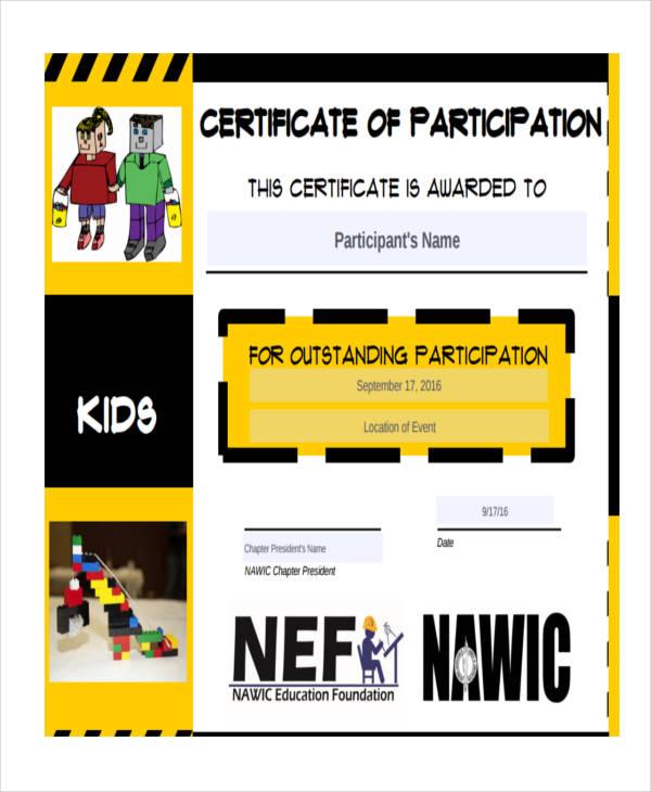 27+ Award Certificate Examples  Samples