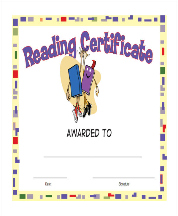 27+ Award Certificate Examples  Samples - free award certificates