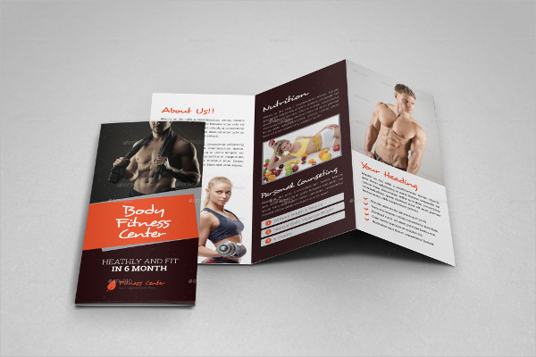 20+ Examples of Fitness Brochure Design - PSD, AI, InDesign, Vector EPS