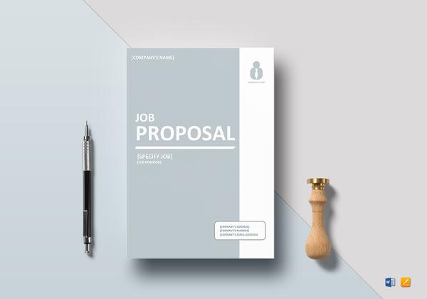 10+ Job Proposal Examples - PDF, DOC Examples