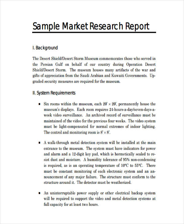 Research Report Writing Format Sample - Format for a Research Paper