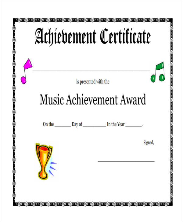 27+ Award Certificate Examples  Samples - examples of certificates of recognition