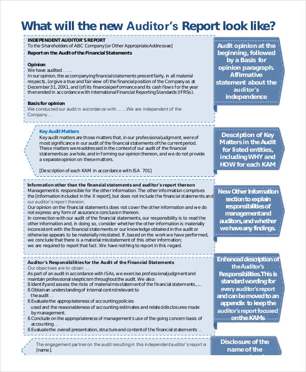10+ Audit Report Examples  Samples - auditing report format