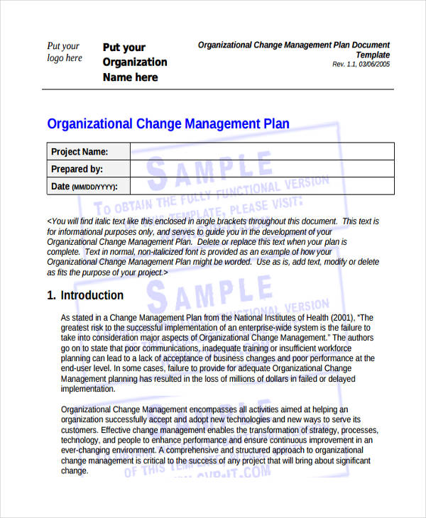 47+ Management Plan Examples
