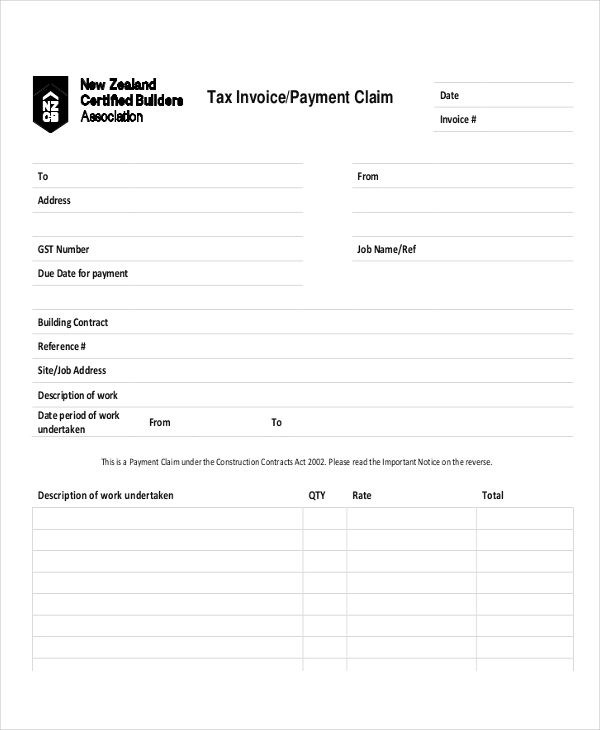 4+ Payment Invoice Examples  Samples - paid invoices