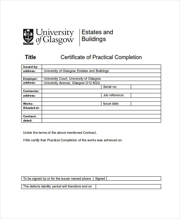 Sample Certificate Of Completion Template Our Author Has Been - sample school certificate