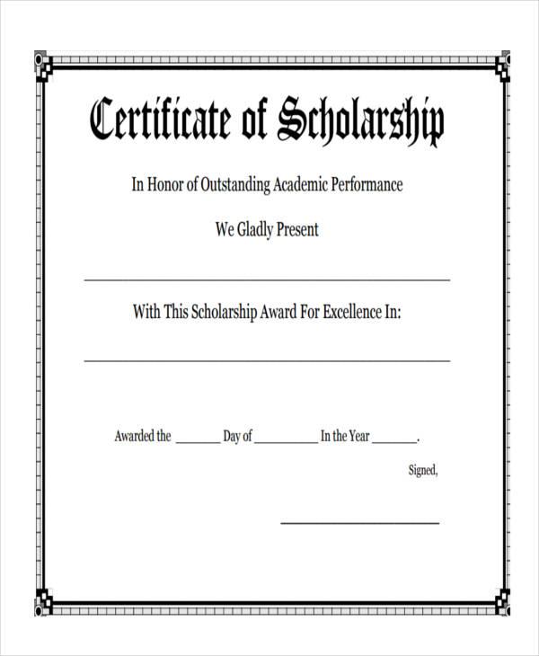 27+ Award Certificate Examples  Samples - Blank Award Templates