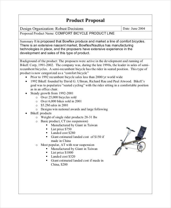 34+ Simple Proposal Formats Examples - PDF, DOC - sales proposal template
