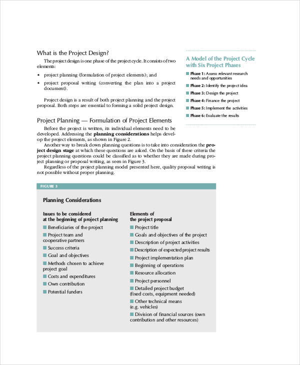 34+ Simple Proposal Formats Examples - PDF, DOC - project proposal format