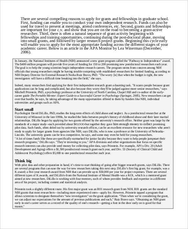 10+ Research Proposal Examples  Samples - PDF - academic proposal template