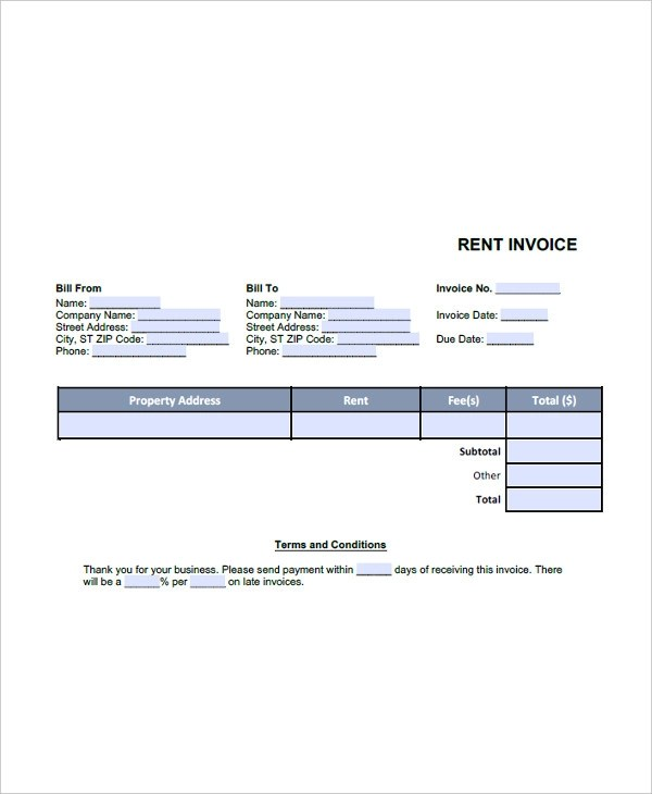 30+ Invoice Forms Examples  Samples
