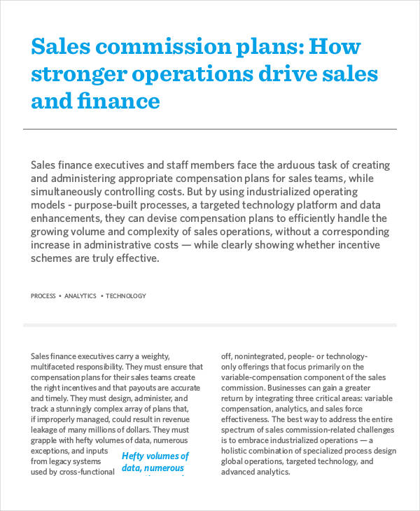 25+ Sales Plan Examples - sales plan pdf