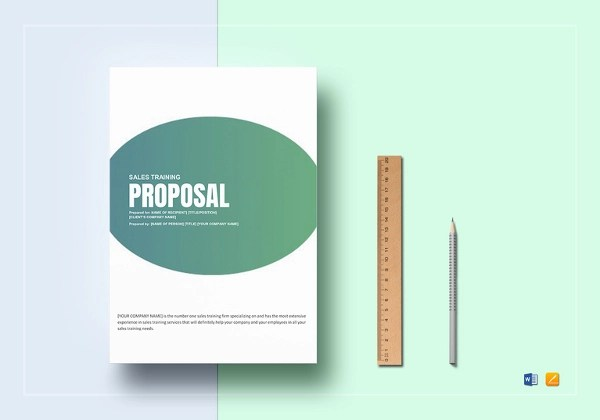 13+ Training Proposal Examples - PDF, DOC, PSD, AI - training proposal template