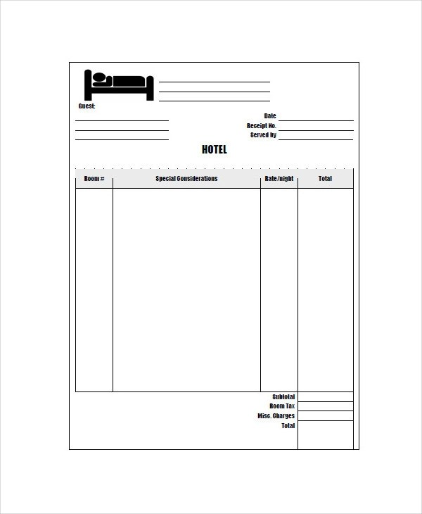 52172387951 - Travel Receipts Word Accounting Invoices with - how to create an invoice in word