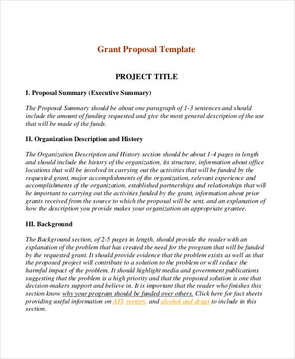 9+ Short Proposal Examples  Samples - PDF, DOC