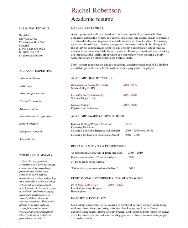 7+ Resume Writing Examples, Samples - resume writing examples