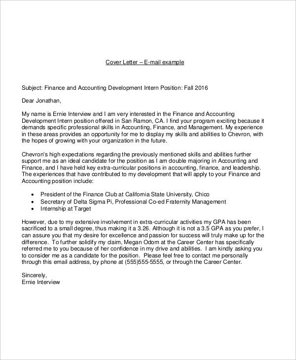 21+ Email Cover Letter Examples  Samples - what to include in cover letter
