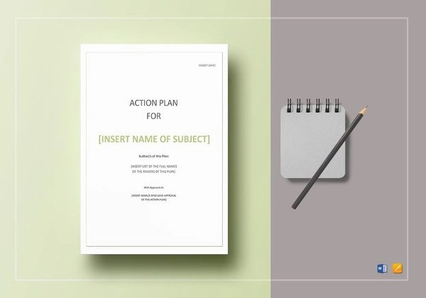 52+ Action Plan Examples - PDF, Word - action plan templates word