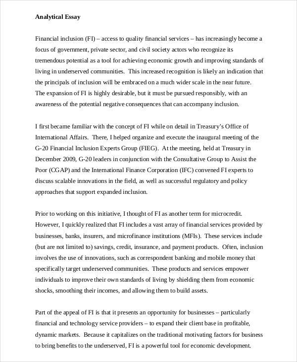 free essay examples