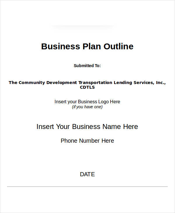 23+ Simple Business Plan Examples - PDF, Word, Pages