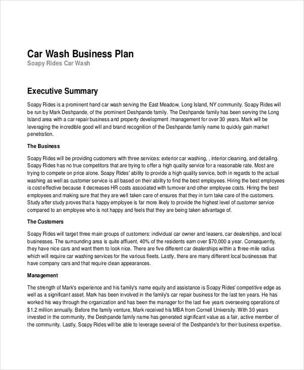 16+ Business Plan Examples in PDF