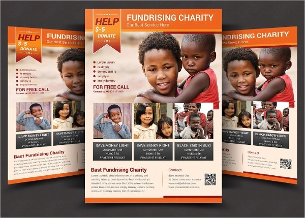 6+ Fundraiser Flyer Designs  Examples - PSD, AI, Vector EPS - flyers design samples
